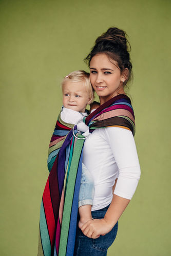 LennyLamb Carousel of Colors RingSling