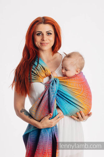 LennyLamb Peacock´s Tail Sunset RingSling
